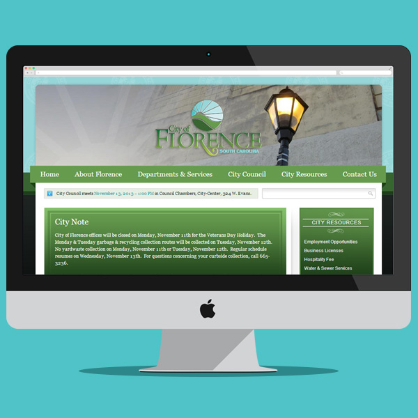 City of Florence Website
